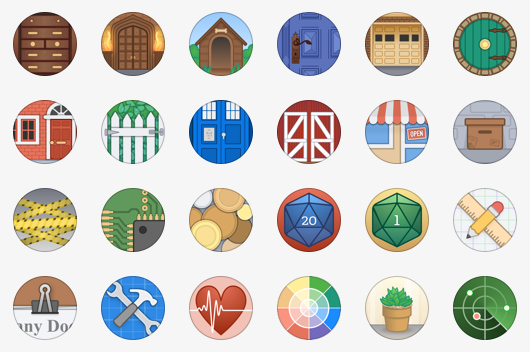 vault icons