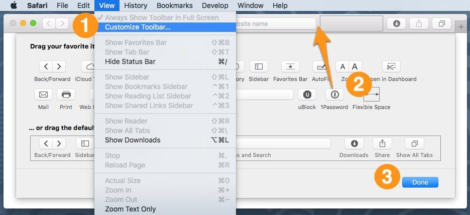 how to add toolbar to chrome